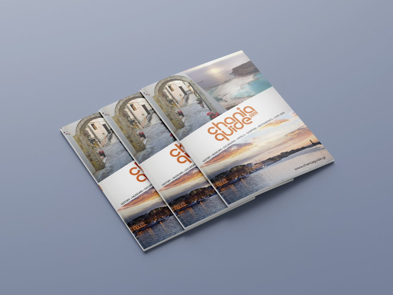Chania Guide - Editorial Design