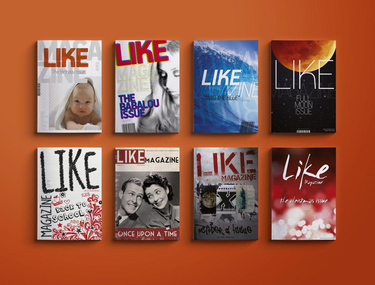 Like Magazine - Editorial Design