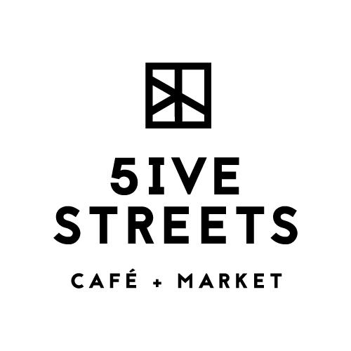 Five Streets Cafe - Logo Design
