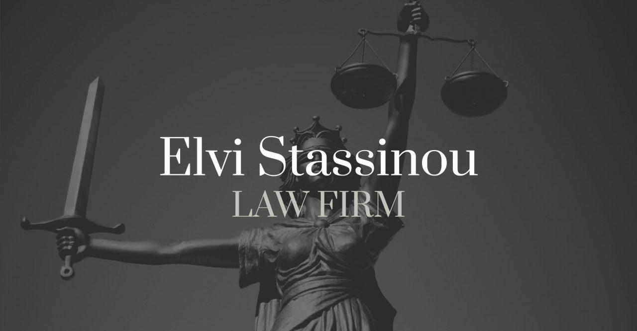 Elvi Stassinou Law Firm - Website Design