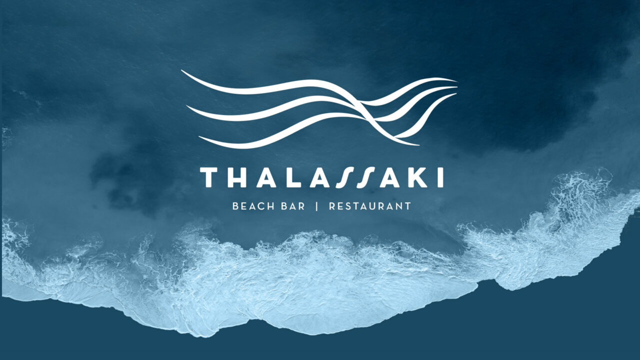 Thalassaki Logo Design