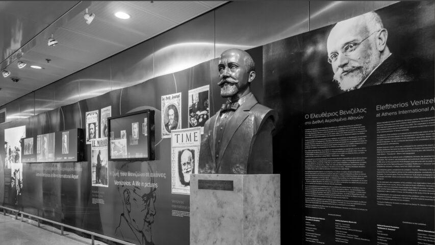 Eleftherios Venizelos Exhibition at Athens International Airport